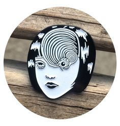 Uzumaki Eyeball Enamel Pin / Cultural Void