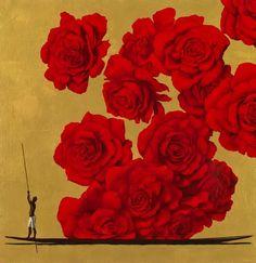 Pedro Ruiz, Colombian painter, was born in Bogotá. At the National School of… Colombian Art, Big Flowers, Medium Art, Figurative Art, Watercolor Paintings, Modern Art, Illustration Art, Prints, Circus Circus