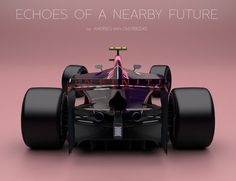 Designer and motorsports enthusiast Andries van Overbeeke imagines a world in which Formula One cars are actually innovative—and amazing. Red Bull F1, Auto Motor Sport, Formula 1 Car, Indy Cars, First Car, Future Car, Conceptual Art, Concept Cars, Grand Prix