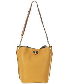 The Sak Lucia Leather Crossbody & Reviews - Women - Macy's Large Crossbody Bags, Leather Crossbody, Leather Handbags, Antique Rings, Or Antique, Small Sized Bags, Stitching Leather, Cross Body Handbags, 3 D