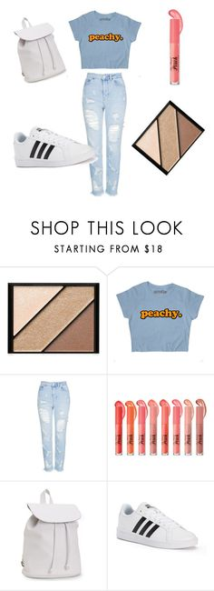 """""""Shout out 2 my ex"""" by h-p-fashion ❤ liked on Polyvore featuring Elizabeth Arden, Topshop, Aéropostale and adidas"""