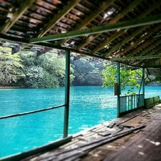 Portland, Jamaica | Come Seek Blue Lagoon, an enchanting spot with deep blue water fed by a fresh water mineral spring.