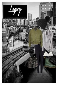 """""""Untitled #21"""" by sammy-skuse on Polyvore featuring Frame Denim, Victoria's Secret, Helmut Lang, Topshop, Dr. Martens and Movado"""