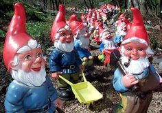 The Garden Gnome originates from the land of Fairy Tales (or Germany, depending on who you ask). Funny Garden Gnomes, Gnome Garden, David The Gnome, Gnome House, Ghost Hunting, Garden Sculpture, Beautiful Flowers, Christmas Ornaments, Lawn Ornaments
