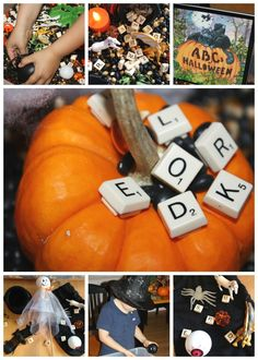 Alphabet Halloween Sensory Bin Read And Play Activities