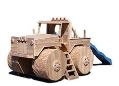 Monster Truck Play Structures