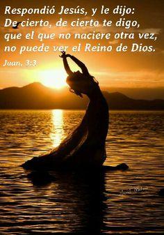 Juan, 3:3 - Respondió Jesús, y le dijo: De cierto, de cierto te digo, que el que no naciere otra vez, no puede ver el Reino de Dios.VERDADES SOBRE APRENDIENDO A ORAR Y RENACER Juan, 3:3 - Respondió Jesús, y le dijo: De cierto, de cierto te digo, que el que no naciere otra vez, no puede ver el Reino de Dios. Cuando entregamos nuestra vida a Jesucristo y nacemos otra vez, (Juan 3:3), comenzamos espiritualmente una nueva vida y como niños recién nacidos… solo dominamos una que otra palabra…
