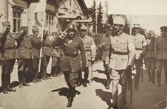 Kenraali Rudiger von der Goltz vieraili  Mannerheimin päämajassa Mikkelissä toukokuussa 1918.
