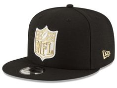 New Orleans Saints New Era NFL Team Shield 59FIFTY Cap