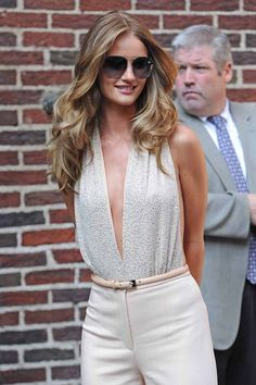 This is my idea of perfect hair  |  Rosie Huntington-Whiteley