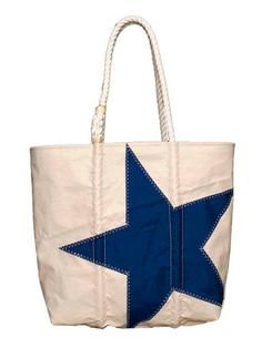Blue Star Tote by Sea Bags Product Image