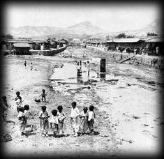 100년전 한국26, 1904년 청계천 모습