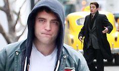 Robert Pattinson hits Life movie set as photographer pal of James Dean #DailyMail