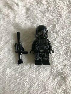 Star Wars LEGO Minifigure ZEV SENESCA w//Blaster Gun Mint Minifig Mini Fig