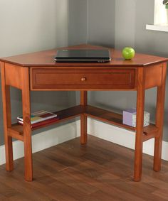Take a look at this Cherry Corner Desk by Target Marketing Systems on #zulily today!