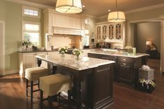 kitchen - two islands forreals