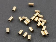 Gold Filled Crimp Bead mm 1 Pack of 50 Pieces by Beadspoint Semi Precious Gemstones, Precious Metals, Crimp Beads, Crimping, Metal Beads, Jewelry Findings, Jewelry Supplies, Pendants, Unique Jewelry