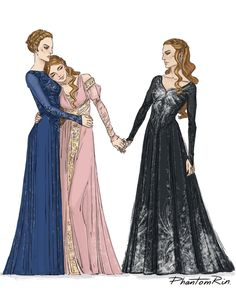 Absolutely in love with the Archeron sisters and their relationship after acowar