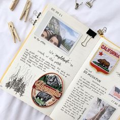 Travel Journal Personalised // Travel Journal With Pockets