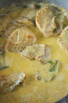 Polędwiczki w kremowym sosie własnym są PRZEPYSZNE!Zrobicie raz,a będziecie na pewno do tego przepisu wracać.Miękkie mięso otulone aksamitnym sosem.Sprawdź! Shrimp, Keto, Vegetables, Blog, Vegetable Recipes, Blogging, Veggies