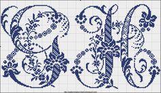 Free Easy Cross Pattern Maker PCStitch Charts Free Historic Old Pattern Books Sajou No 601 Cross Stitch Alphabet Patterns, Wedding Cross Stitch Patterns, Embroidery Alphabet, Cross Stitch Letters, Cross Stitch Charts, Cross Stitch Designs, Cross Stitching, Cross Stitch Embroidery, Crochet Cross