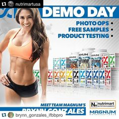 #Repost @nutrimartusa  #Repost @brynn_gonzales_ifbbpro with @repostapp.  Tomorrow 1/16 10-12 Nutrimart 7299 Navajo Rd! Get hooked up with some wicked deals! Buy 1 Magnum product get 10% off Buy 2 get 15% off Buy 3 get 20% off  a FREE Mimic!!! Can't wait to see you!!! #freesamples #hardmagnum #magmum #pictures #MagnumNutraceuticals #Nutrimart #IFBB #ifbbmom #ifbbpro #fit #ifbbbikini #npc #physique #figure #bodybyo #bodybuilder #fitness #fitlife #fitliving #fitlifestyle #pump #cut #shred #lean…