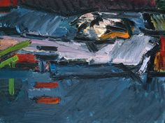 FRANK AUERBACH - FIGURE ON A BED, 1967-70