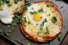 Naan Breakfast Pizza recipe: Weekday easy. #food52