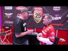 2013 Berkley Bass Fishing Lures with Larry Mellors at the Toronto Sportsmen's Show