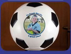 Personalized Soccerball - Custom Photo Gift Idea    $24.95     #coachgift    #soccer   #giftideas