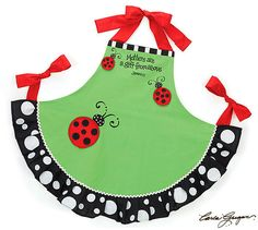 Mothers Are A Gift from Above James 1 17 Ladybug Kitchen Cooking Apron Gift | eBay