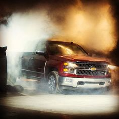 The all-new 2014 #Silverado made quite the statement. Move over other guys, the best just got better. #RaiseTheBar #reveal #chevytrucks