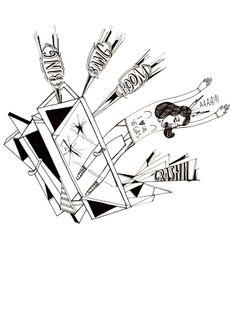 Tijuana Crash. Playing Cards, Illustration, Illustrations, Cards, Game Cards, Playing Card