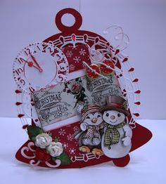 Voorbeeld Kaarten Gemaakt door: DBDHobby Christmas Gift Tags, Christmas Crafts, Christmas Patterns, Xmas Tree, Gingerbread, Embellishments, Decoupage, Ornaments, Blog