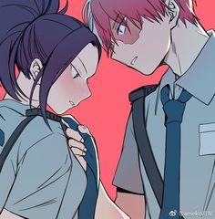 Todoroki Shouto & Yaoyorozu Momo
