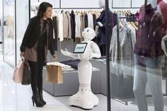SoftBank's humanoid robot Pepper is improving sales at brick-and-mortar stores - Recode