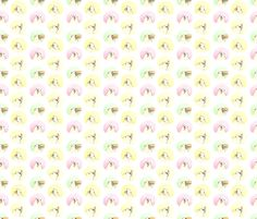 "Pug Treats 2.5"" Polka Dots fabric by inkpug on Spoonflower - custom fabric"