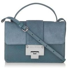 Jimmy Choo Suede and Leather Cross Body Bag - one day it will be mine!