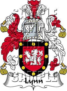 Lynn Family Crest apparel, Lynn Coat of Arms gifts