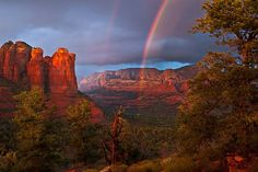 Double Rainbow Sedona, Arizona