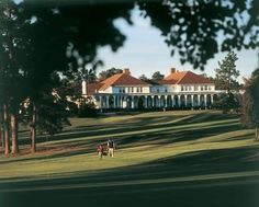 When I was 13, I moved to Pinehurst, North Carolina with my family.  There's no better place for a golfer.  Pssssttt...it's only 72 miles from Raleigh!