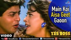 Main Koi Aisa Geet Gaoon Full Video Song | Yes Boss | Shahrukh Khan Juhi Chawla | Abhijeet & Alka