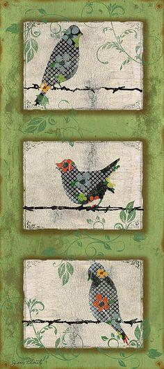 I uploaded new artwork to fineartamerica.com! - 'Lovely Song Bird Trio - 5' - http://fineartamerica.com/featured/lovely-song-bird-trio--5-jean-plout.html via @fineartamerica