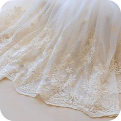 * Width: 51.1(130cm) * This price is for 1 yard, We offer continued lace without cutting them to pieces if you buy more, * Soft and comfortable handfeel * Wholesale accetpable ! Features: Brand new lace fabric, top quality and easy to use. Shipment: - Standard: By China Post