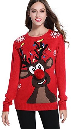 Looking for *daisysboutique***** Women's Christmas Cute Reindeer Knitted Sweater Girl Pullover ? Check out our picks for the *daisysboutique***** Women's Christmas Cute Reindeer Knitted Sweater Girl Pullover from the popular stores - all in one. Harry Potter Christmas Sweater, Best Ugly Christmas Sweater, Christmas Sweaters For Women, Holiday Sweater, Christmas Gifts, Reindeer Sweater, Womens Christmas, Christmas Clothing, Funny Christmas