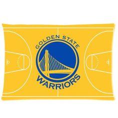 warriors basketball pillows | NBA Golden State Warriors Custom Rectangle Standard Pillow Cases 20x30 ...