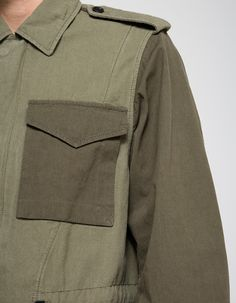 ae848f6684b8d 3.1 Phillip Lim   Mixed Canvas Patchwork Field Jacket
