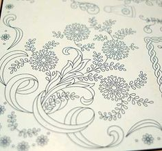 Iron-on Transfers for Hand Embroidery by Mani di Fata of Italy from the fabulous Mary Corbet