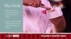 Pipe like a pro, baby! Watch Buddy, The Cake Boss, explain how to fill a pastry bag. #DevotedToDessert