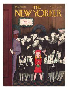 §§§ : The New Yorker Cover : 1941  : Christina Malman